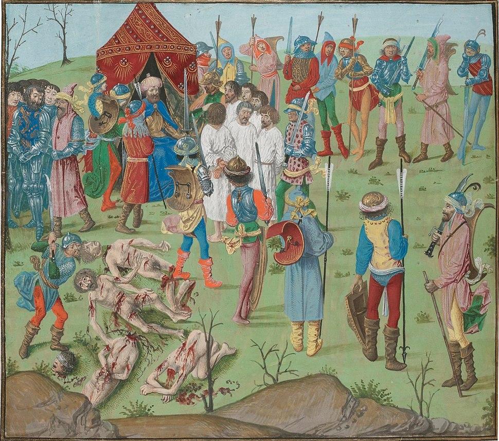 Battle of Nicopol aftermath Thr masacreofthecristians revenge for rahova massacre