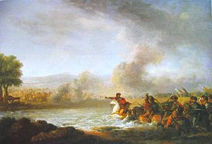Battle of Warka - Battle of Warka 1656 by Franciszek Smuglewicz (1745-1807)