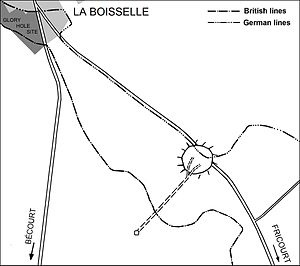 Lochnagar mine - Image: Battle of the Somme 1916 Lochnagar mine, La Boisselle