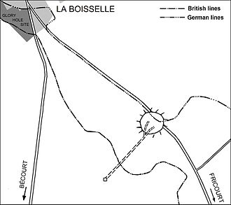 First day on the Somme - Image: Battle of the Somme 1916 Lochnagar mine, La Boisselle