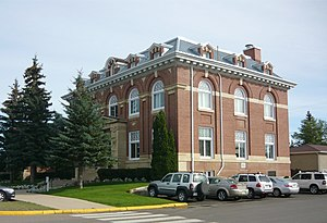 Battleford - Image: Battleford Court House
