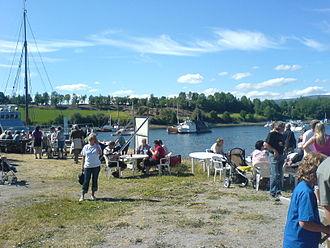 Kjerknesvågen - View of the harbor at Kjerknesvågen
