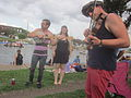 Bayou St John 4th of July 2013 Banjo Violin.JPG
