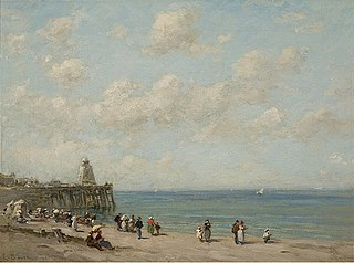 Beach at Honfleur