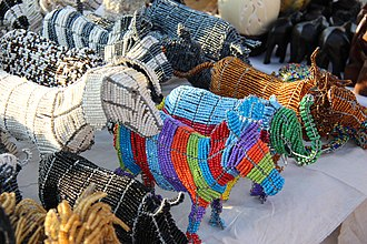 Bruma, Gauteng - Image: Beadwork Wire Art and Crafts (23)