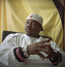 Portrait of Beanie Sigel in 2002