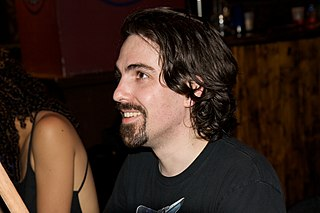 Bear McCreary at signing after BSG Orchestra concert House of Blues Comic Con 2009.jpg