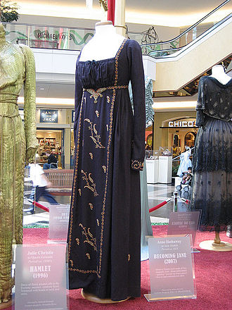 Becoming Jane - A costume from the film worn by Anne Hathaway.