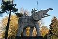 Beeld van een Afrikaanse olifant in Tervuren 02.jpg