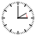 Clocks are advanced by one hour during the very early morning at the beginning of DST.