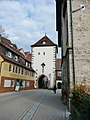 Beim 366 km langen Neckartalradweg, Stadttor, Horb am Neckar - panoramio.jpg