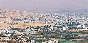 Beqaa Valley - The Chtaura-Taalabaya-Saadnayel-Zahle urban area, the valley's largest