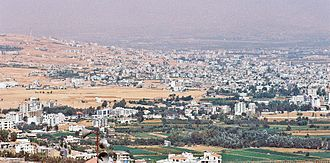 Beqaa Valley - The Chtaura-Taalabaya-Saadnayel-Zahle urban area, the valley's largest