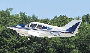 Bellanca Viking - Bellanca Super Viking landing