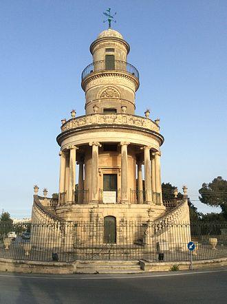 Lija Belvedere Tower - Image: Belvedere Tower n Lija Malta