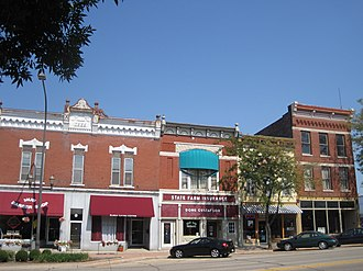 Belvidere South State Street Historic District - Image: Belvidere South State Street Historic District