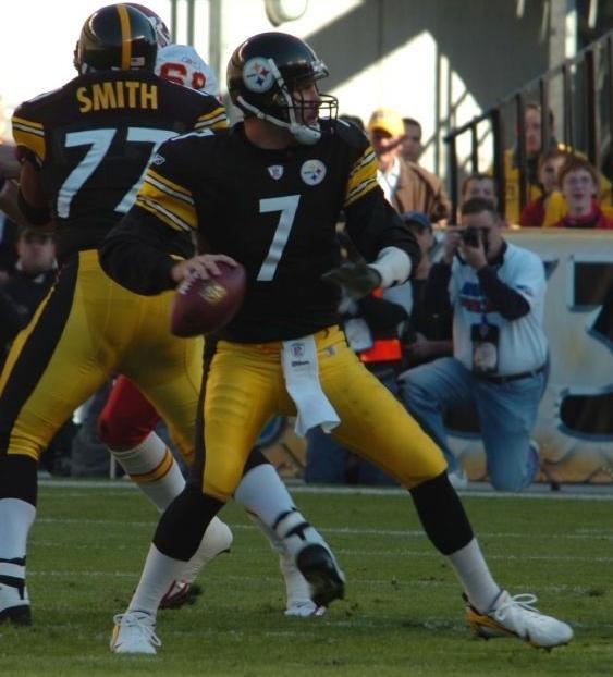 Ben Roethlisberger Steelers cropped