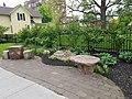 Bench in Park street, Rochester, NY.jpg