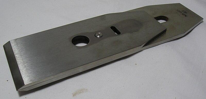 File:Bench plane iron.jpg