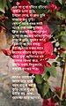Bengali poem and bunch of flowers.jpg