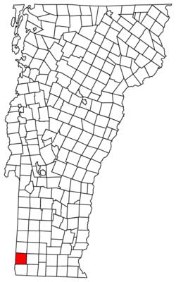 Located in Bennington County, Vermont
