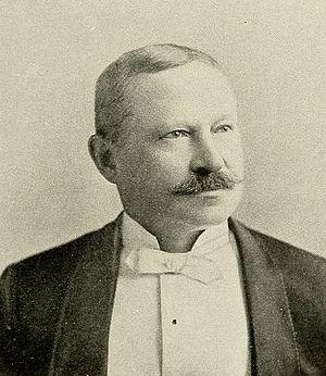 Moses Bensinger - Moses Bensinger, 1896 portrait