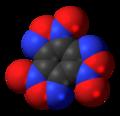 Benzotrifuroxan molecule spacefill.png