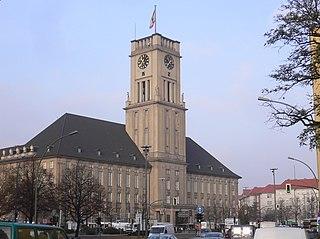 Schöneberg Quarter of Berlin in Germany