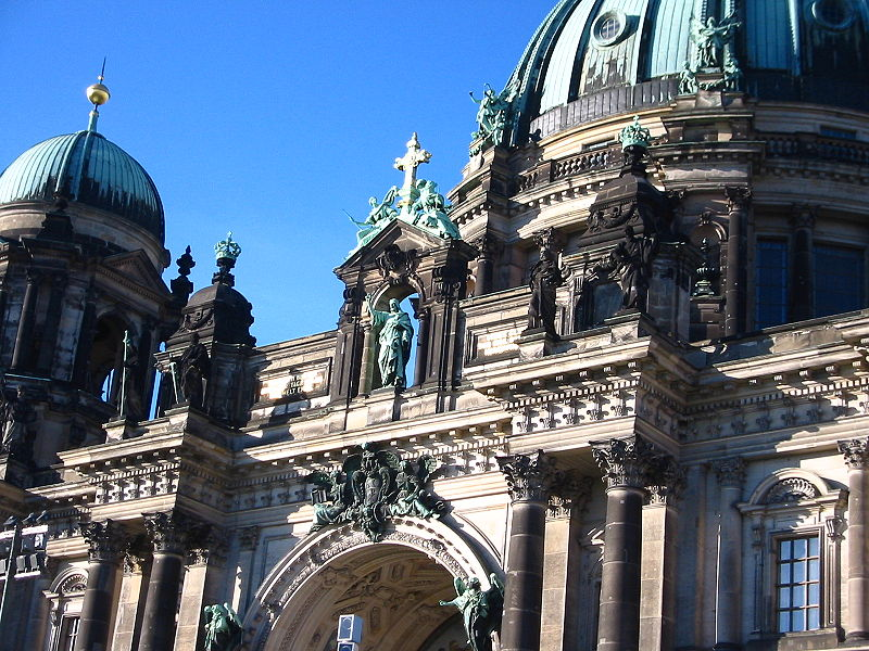 Detail of the Berlin Protestant Cathedral (Berlinerdom)