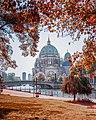 Berliner Dom seen from James Simon Park.jpg