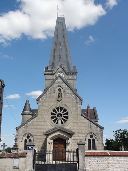 Berrieux (Aisne) église