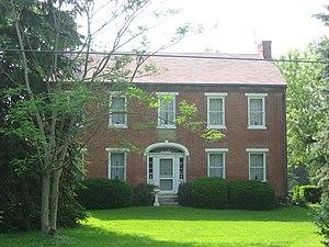 Sugarcreek Township, Greene County, Ohio - The Berryhill-Morris House, built 1832