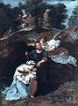 Bertholet Flemalle, La fuite en Egypte (Joseph averti par un ange), Musée des Beaux-Arts, Liège, Belgium.jpg