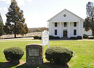 National Register of Historic Places listings in York County, South Carolina - Image: Bethel Presbyterian Church Clover