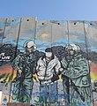 Bethlehem wall graffiti at Aida Camp - arrest.jpeg