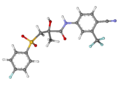 Bicalutamide ball-and-stick.png