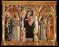 Bicci di Lorenzo - Madonna and Child with Saints and Angels - WGA02159.jpg