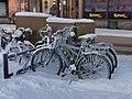 Bicycles Mannerheim Park Oulu 20210209.jpg
