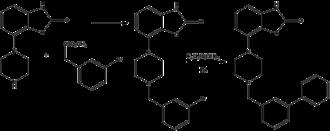 Bifeprunox - Image: Bifeprunox synth