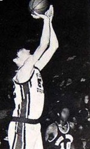 Palos Verdes High School - Bill Laimbeer, pictured on the varsity basketball team, would go on to earn four All-Star appearances and two championships in the NBA.