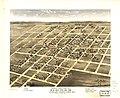 Bird's eye view of Homer, Champaighn (sic) County, Illinois 1869. LOC 73693357.jpg