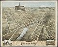 Birds eye view of Waukesha, Waukesha County, Wisconsin 1874 (2675955998).jpg