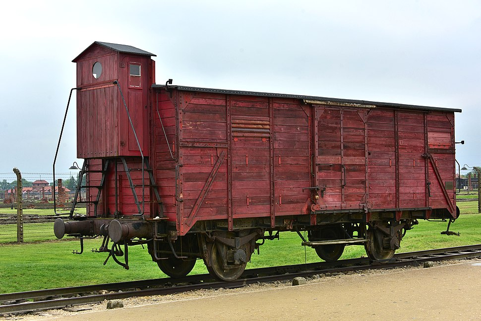 Birkenau wagon kolejowy2019