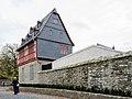 Bischofssitz Limburg - residence of the bishop of Limburg - Aussenmauer- Büro-Empfangs-Konferenz-Bereich - Alte Vikarie - Haus Staffel - October 26th 2013.jpg