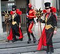 Black and red Costumes Mardi Gras in Jackson Square.jpg