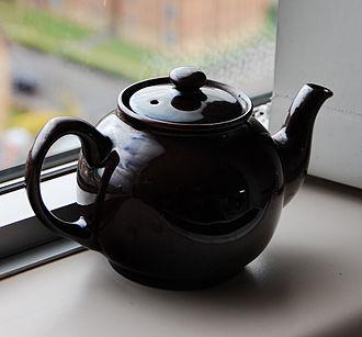 Teapot - A basic black teapot