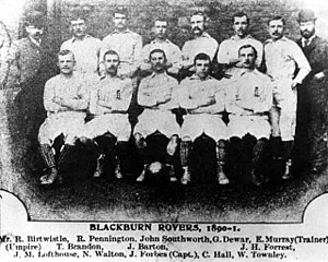 Blackburn Rovers F.C. - F.A. Cup winning side of the 1890–91 season