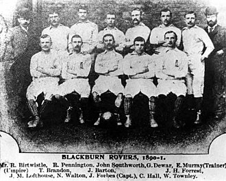 Blackburn Rovers F.C. - FA Cup winning side of the 1890–91 season