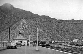 Blaenau Ffestiniog railway station - Image: Blaenau ffestiniog north train station 1863501 4a 39db 51