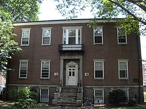 National Register of Historic Places listings in Manhattan on islands - Image: Block house governors island
